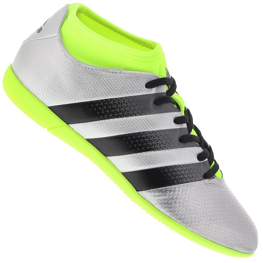 Chuteira Futsal adidas Ace 16.3 Primemesh IN - Infantil b4663e7a8febe