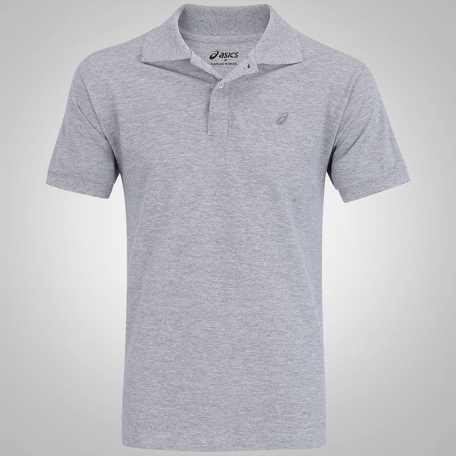 Camisa Polo Asics Piquet - Masculina f6c5d4f647210
