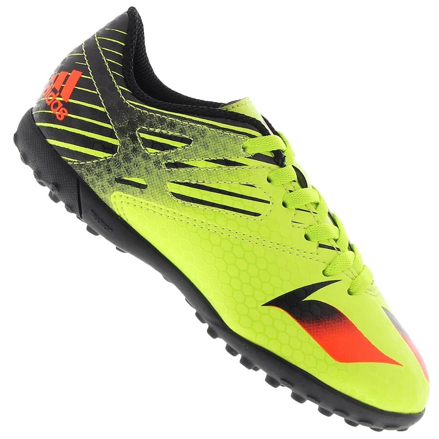3708419023 Chuteira Society adidas Messi 15.4 TF - Infantil
