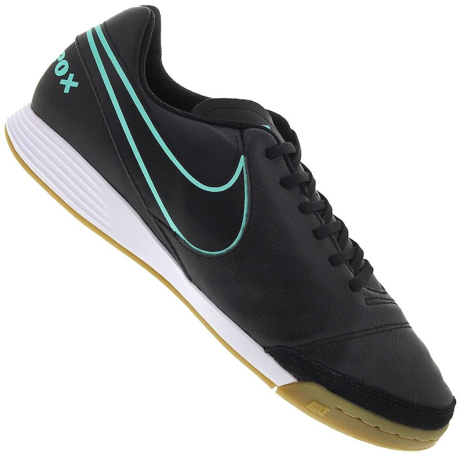 2d9a05331b Chuteira Futsal Nike Tiempo Genio II Leather IC - Adulto