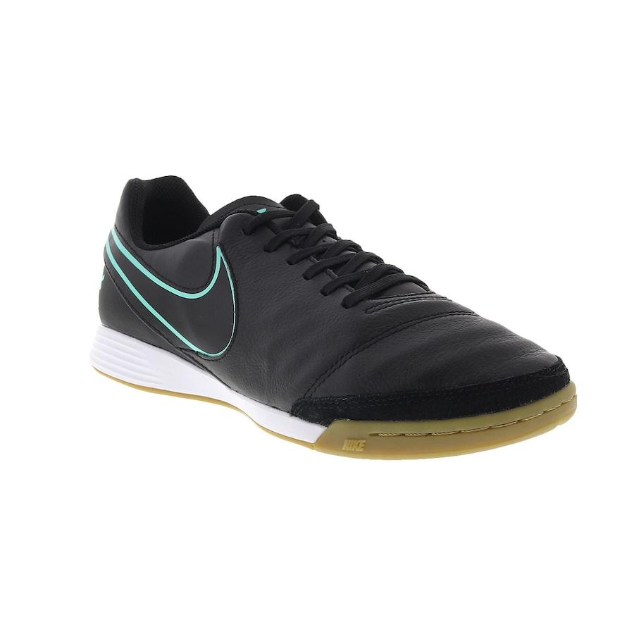 65af1d9ba1 Chuteira Futsal Nike Tiempo Genio II Leather IC - Adulto