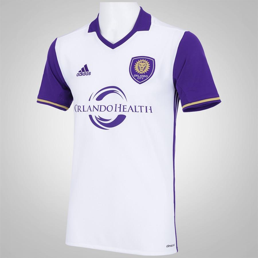 Camisa Orlando City II 2016 adidas - Masculina 4625bd6e64616