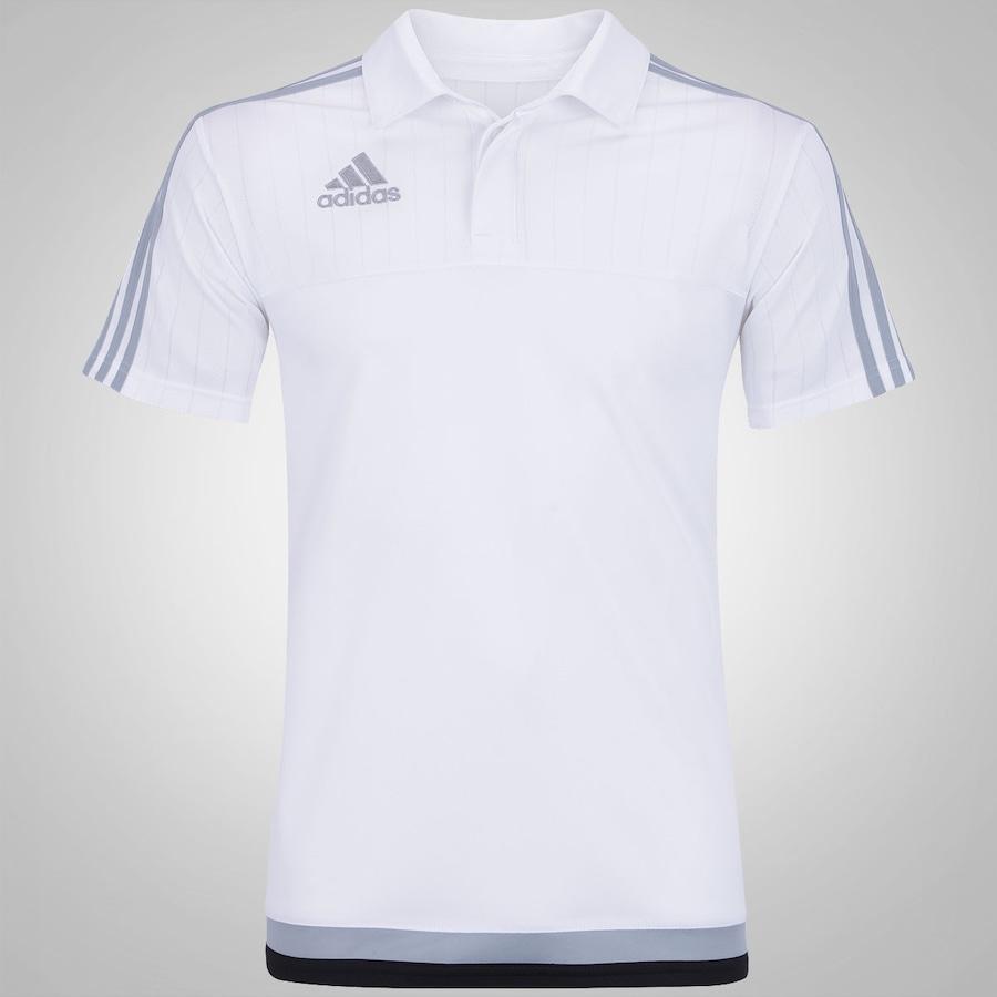 a844a09f3e089 Camisa Polo adidas Viagem Tiro15 - Masculina