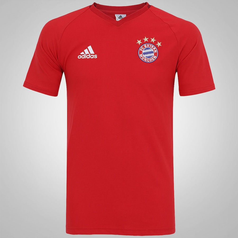 0c8537d7b16a5 Camiseta Bayer de Munique Hino adidas - Masculina