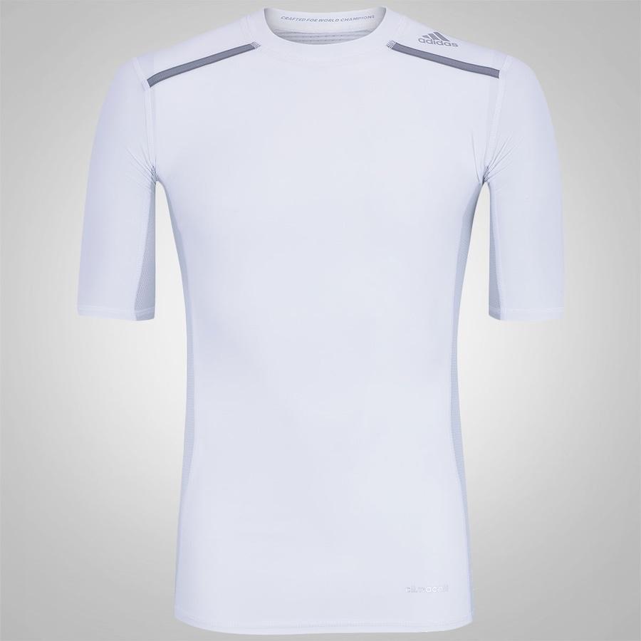 b0bfca17f2 Camisa de Compressão adidas TechFit Chill - Masculina