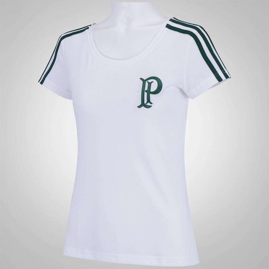 Camiseta do Palmeiras adidas 3S - Feminina a3b2fc7559905