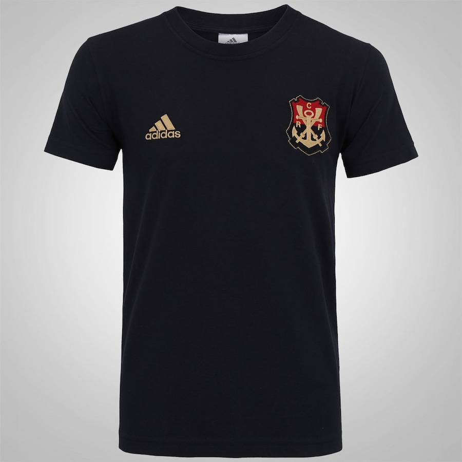 957ee1606d7b7 Camiseta do Flamengo adidas Escudo - Masculina