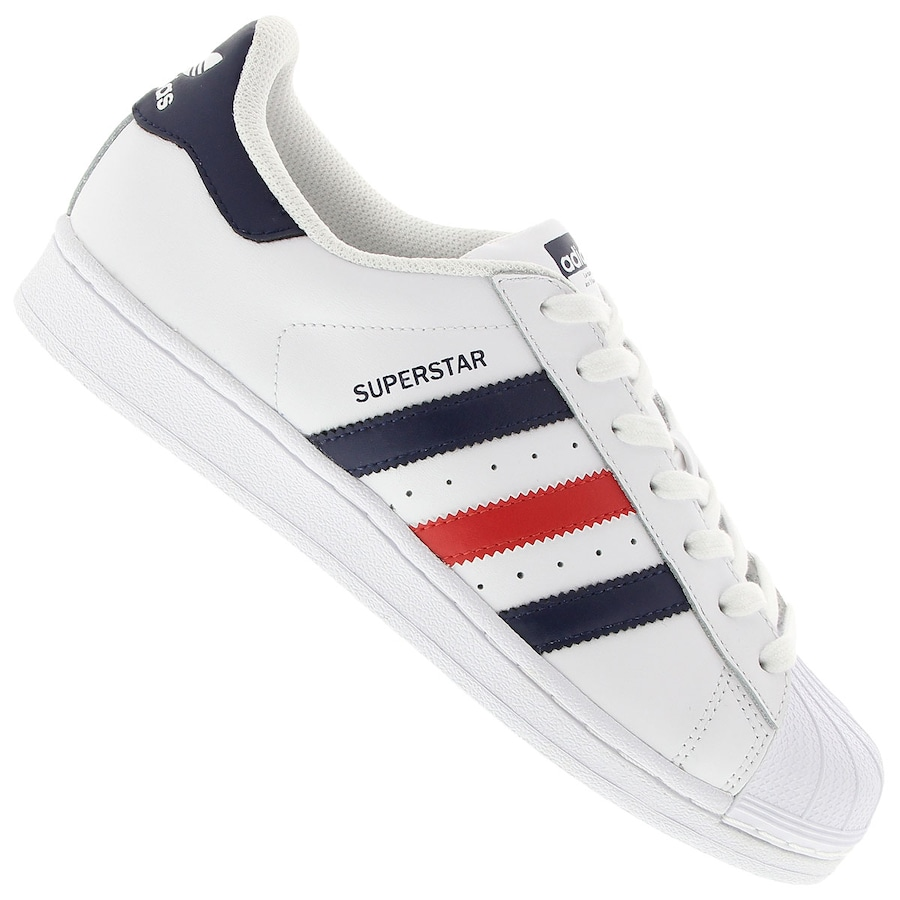 1b1e3d21b1 Tênis adidas Superstar Foundation Masculino