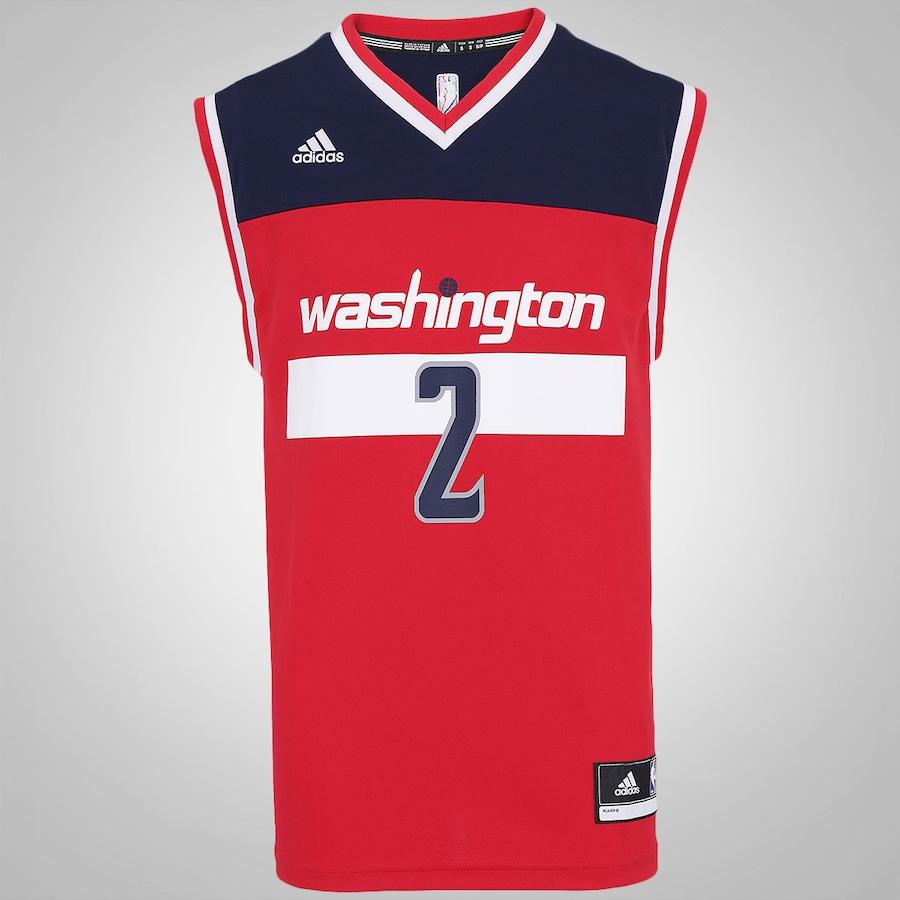 510b61b25 Camiseta Regata adidas NBA Washington Wizards - Masculina