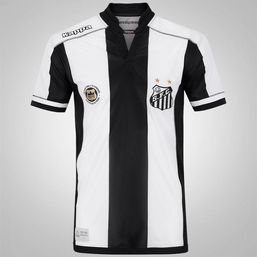 Camisa do Santos II 2016 Kappa – Masculina 6913251fd4883