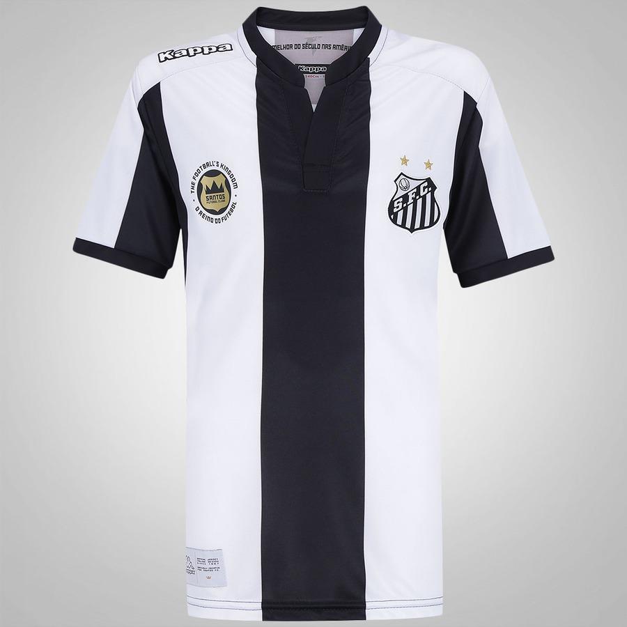 Camisa do Santos II 2016 Kappa - Infantil a3035b3063e12