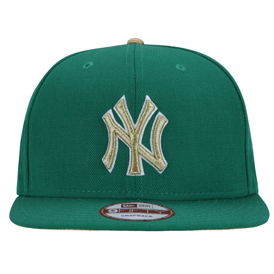 0118600651b19 Boné Aba Reta New Era 950 New York Yankees Green - Snapback