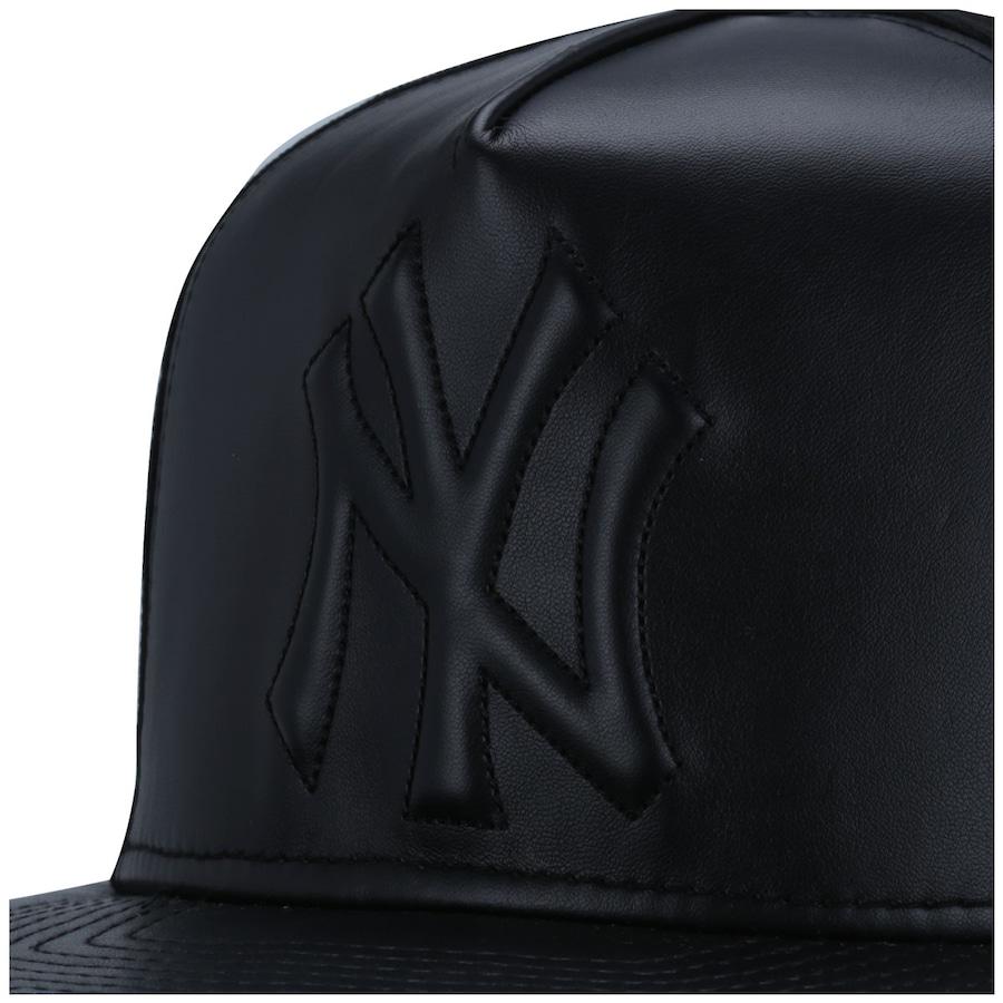 ... Boné Aba Reta New Era 59FIFTY New York Yankees All Black - Strapback -  Adulto ... 6b30deff41b