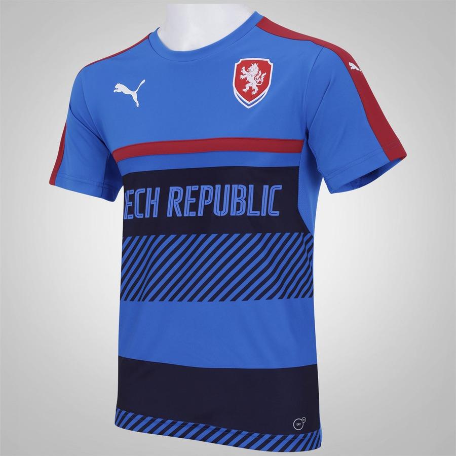 f30cf5b78f Camisa de Treino República Tcheca 2016 Puma - Masculina