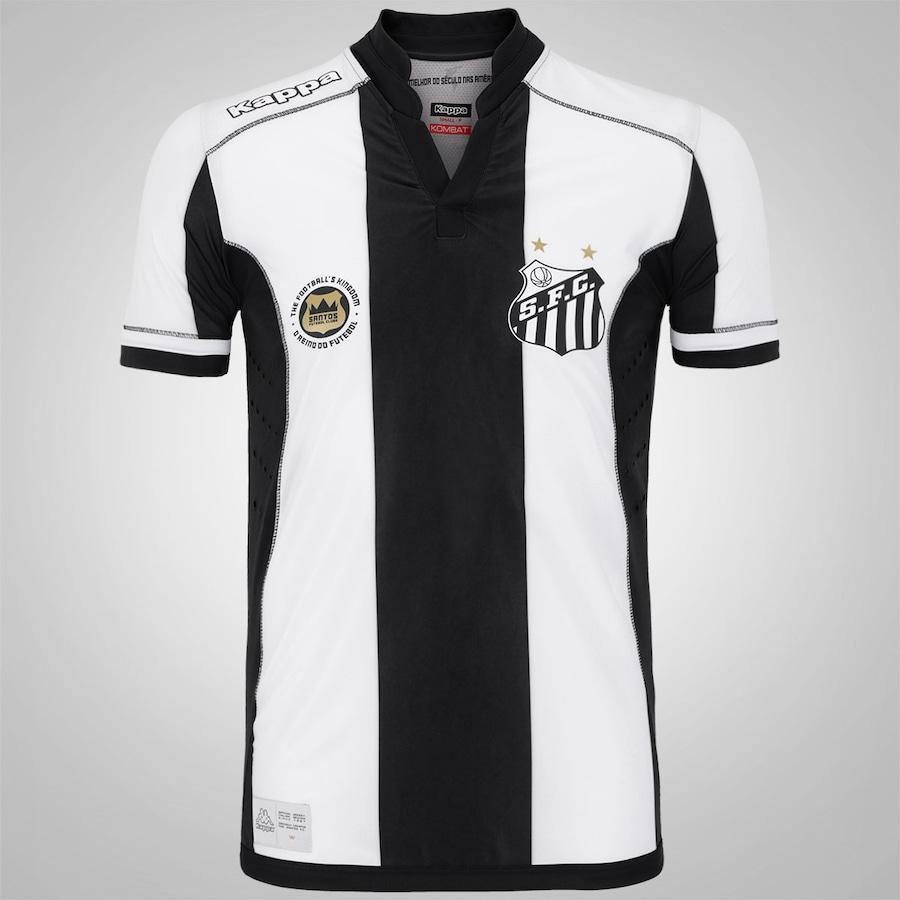 Camisa do Santos II 2016 Kappa - Jogador ea615a5df3660