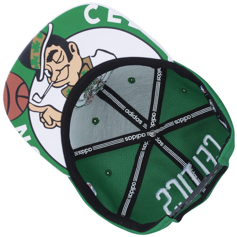 ... Boné Aba Reta adidas Flat NBA Boston Celtics - Snapback - Adulto d1233c9f453