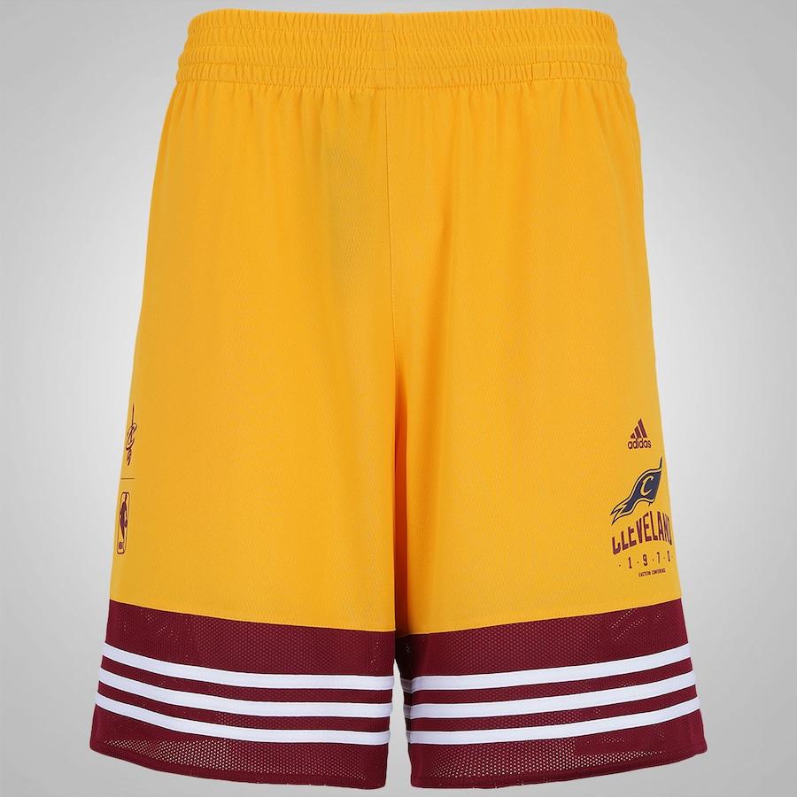 Bermuda Cleveland Cavaliers adidas NBA Basics - Masculina a9166cc670a8b