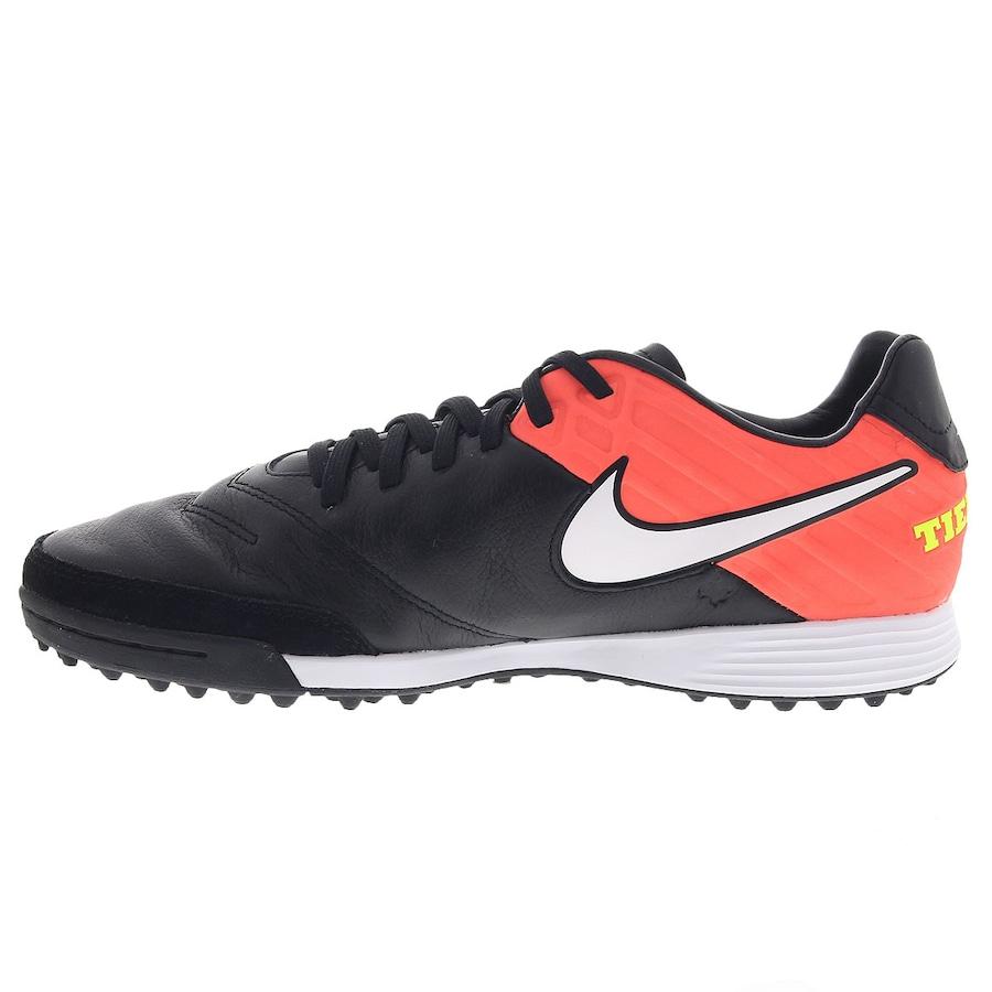 d744d48ded Chuteira Society Nike Tiempo Mystic V TF - Adulto