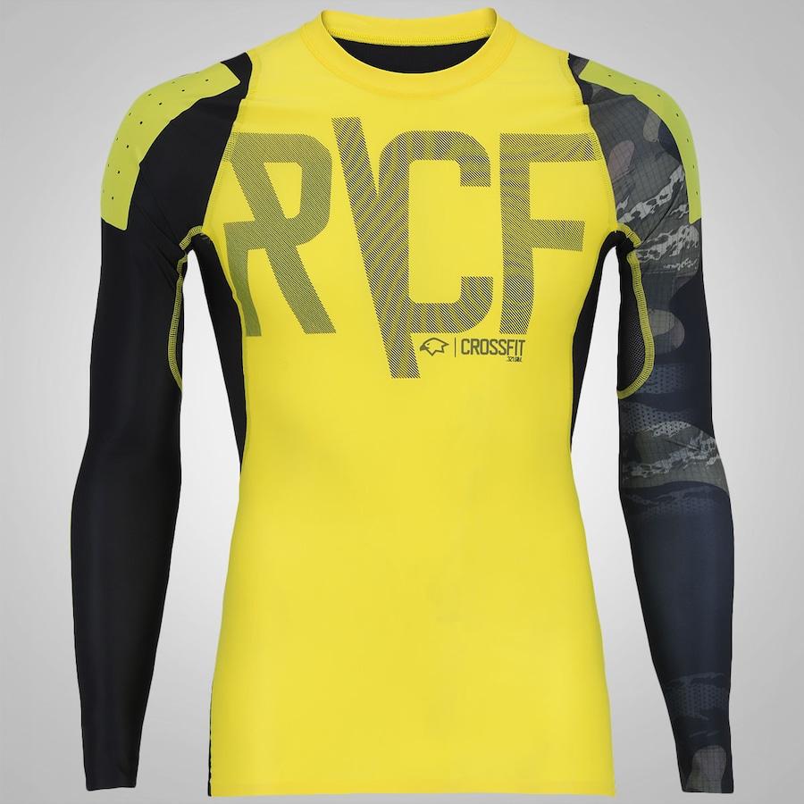 5475cb1a208 Camisa de Compressão Manga Longa Reebok RCF - Masculina