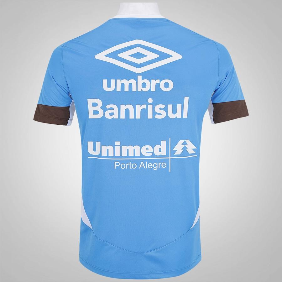Camiseta de Treino do Grêmio 2016 Umbro - Masculina 16f82260b5b55