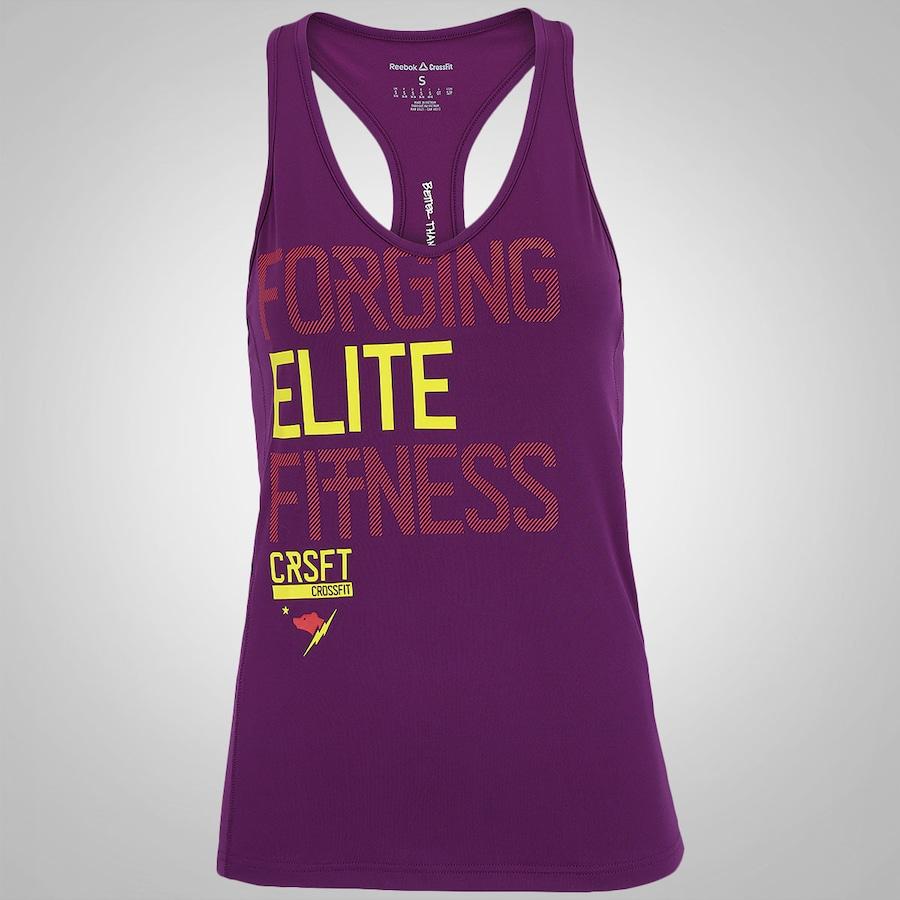 Camiseta Regata Reebok CrossFit Train - Feminina 62d424ed436a4