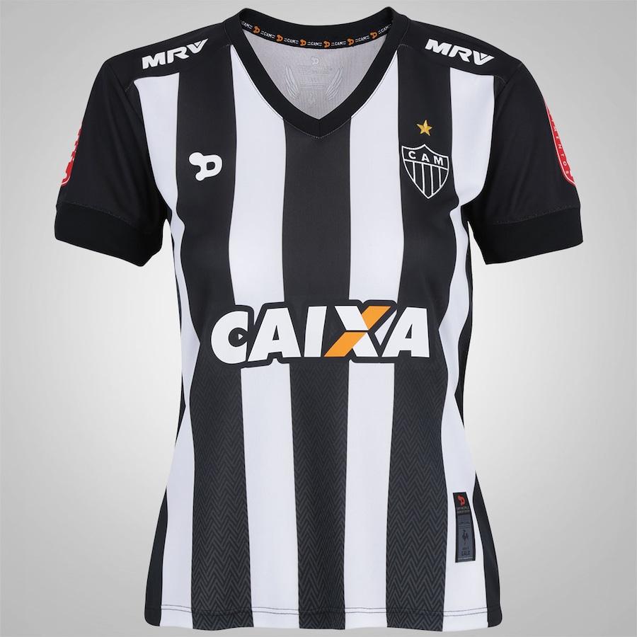 b341bcfef0 Camisa do Atlético-MG I nº 10 2016 Dryworld - Feminina