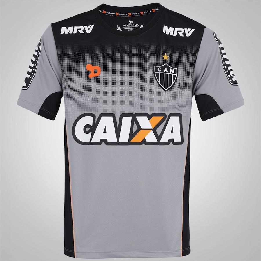 Camiseta de Treino do Atlético-MG 2016 Dryworld - Masculino 78b64d454c848