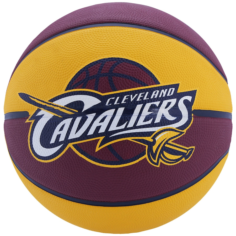 9954d9789 Bola de Basquete Spalding Cleveland Cavaliers Oficial