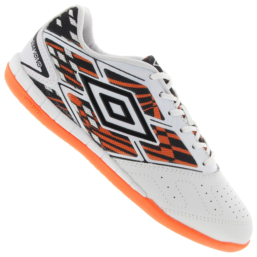 8c8284cf378d4 Chuteira Futsal Umbro Diamond - Adulto