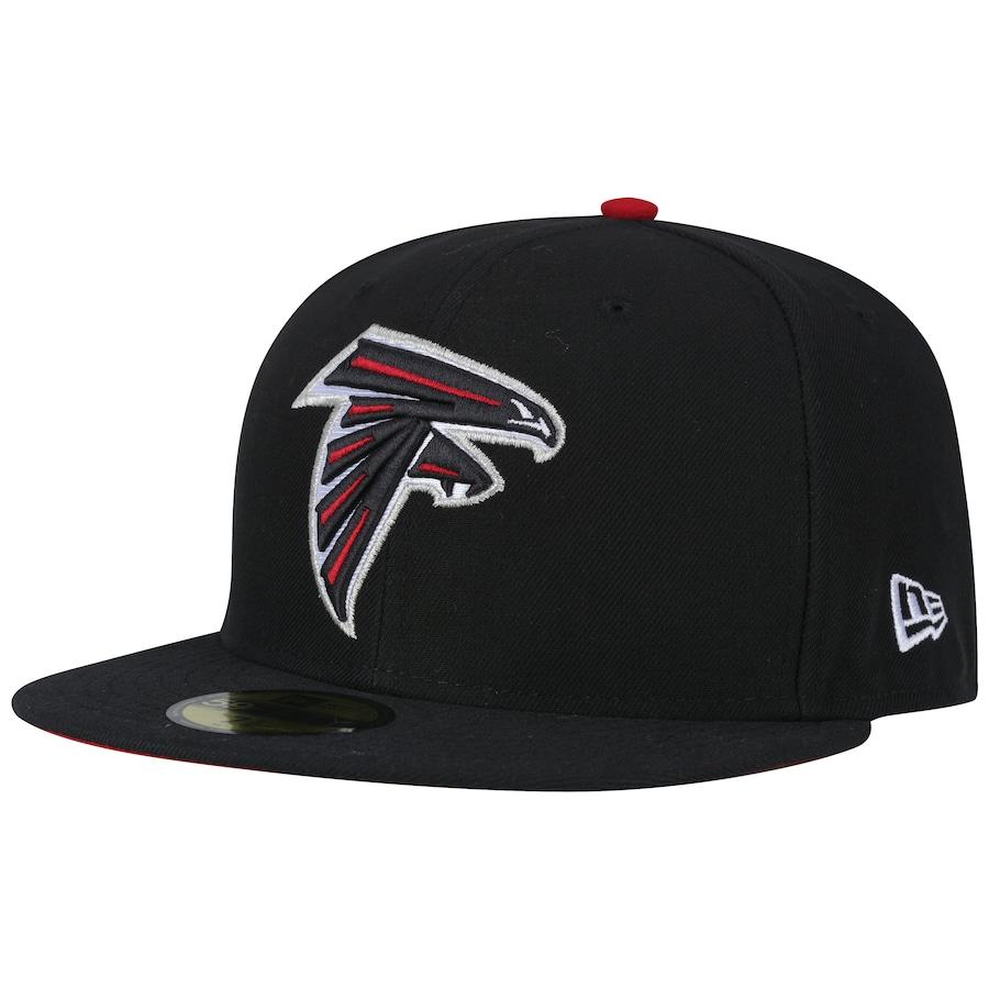 ... Boné Aba Reta New Era Atlanta Falcons NFL Evergreen - Fechado - Adulto  ... 758da381d0a8c