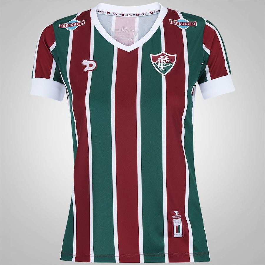 34d4fc0dd0 Camisa do Fluminense I 2016 nº10 Dryworld - Feminina