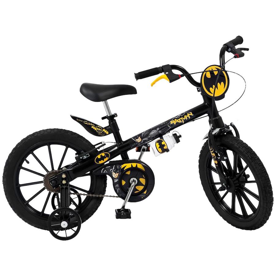 370e2e30dc21e Bicicleta Bandeirante Batman - Aro 16 - Freio V-Brake - Inf