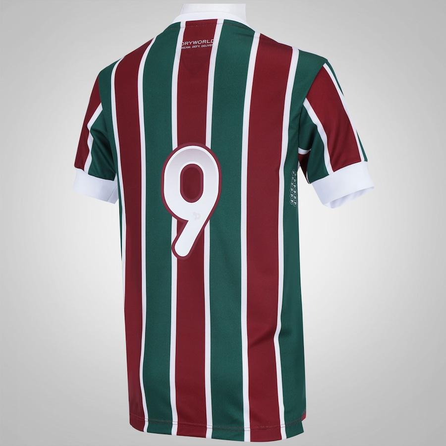 e701412728 Camisa do Fluminense I 2016 nº10 Dryworld - Infantil