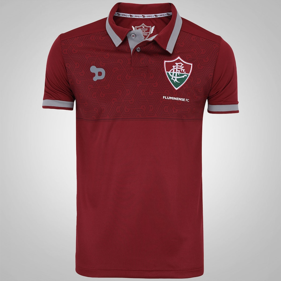 cf7f372c3e855 Camisa Polo do Fluminense Viagem Dryworld - Masculina