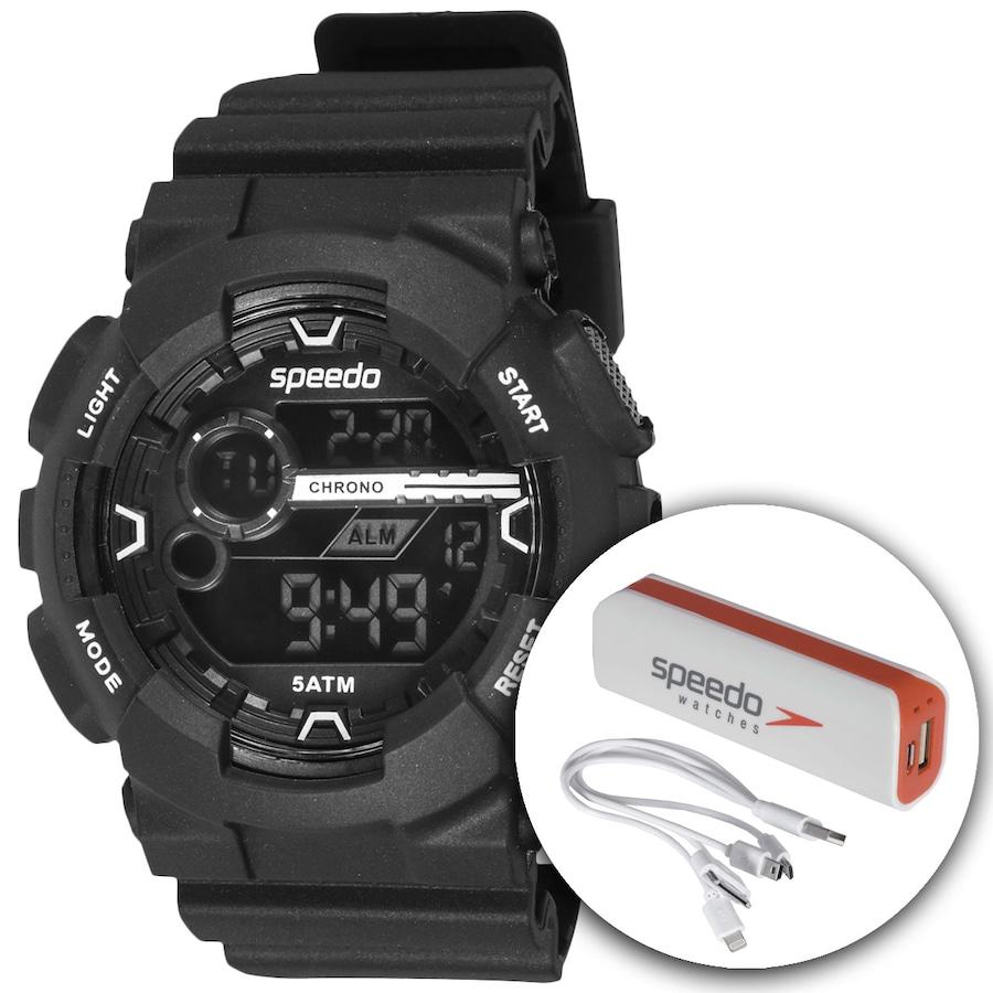 Relógio Digital Speedo 81092G0 com Carregador Portátil - Ma d1be4b555e6