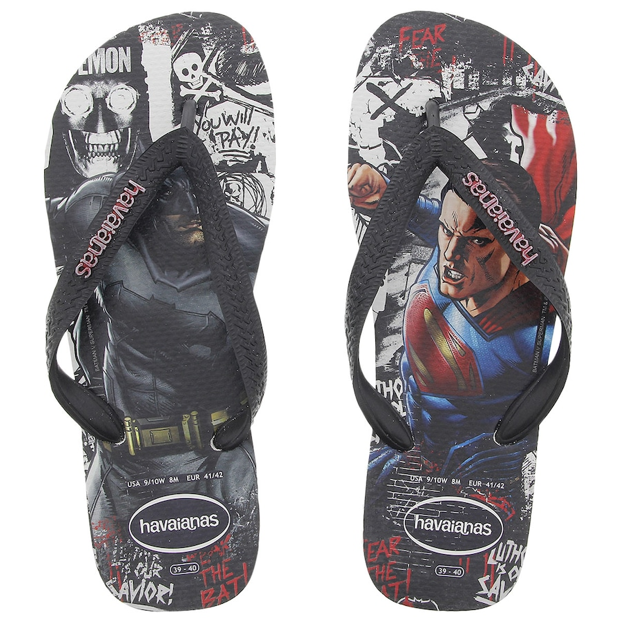 4accbafc3 Chinelo Havaianas Batman Vs. Superman - Masculino