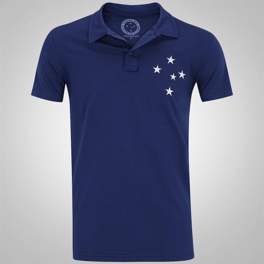 Camisa Polo do Cruzeiro Rei - Masculina 8a78d31bc54ac