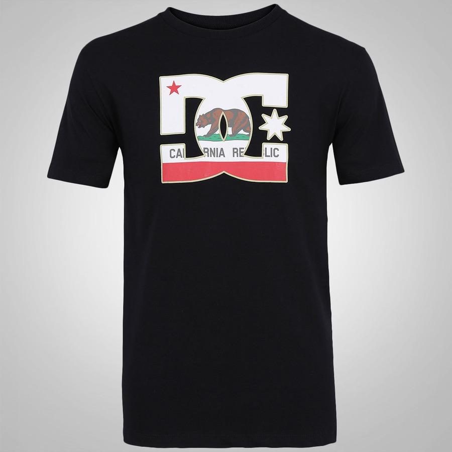 Camiseta DC Shoes Bas Cali Athlete - Masculina fc3554f64a3bc