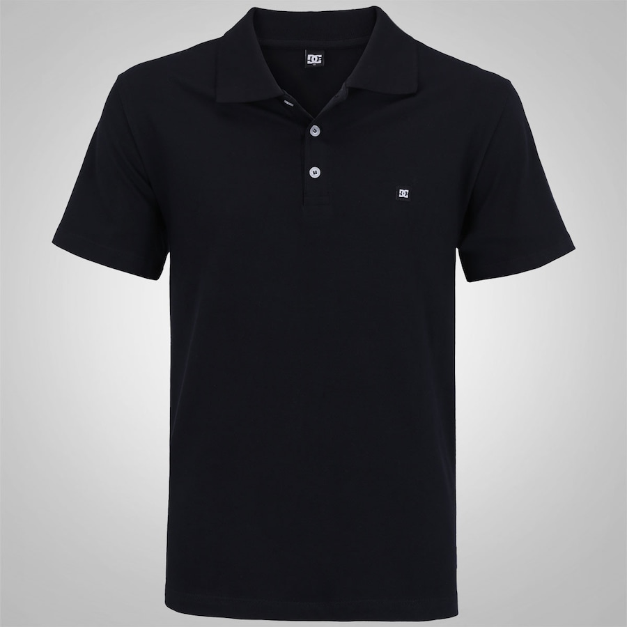Camisa Polo DC Shoes Staple - Masculina 2fb7e39cee6