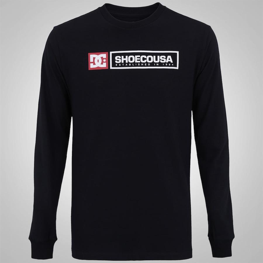 Camiseta Manga Longa DC Shoes Basic Relic - Masculina 1eaa36f569f00
