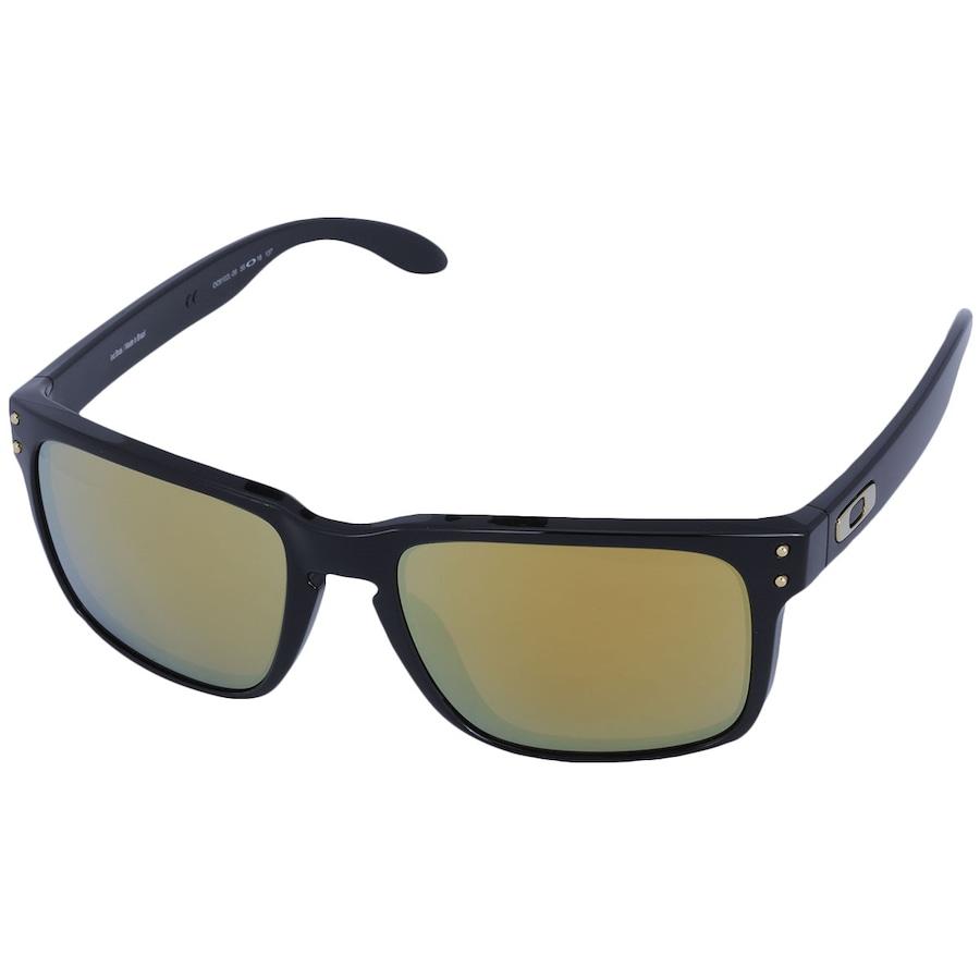 a4a9133ee8c3d Óculos de Sol Oakley Holbrook Iridium com Proteção UVB