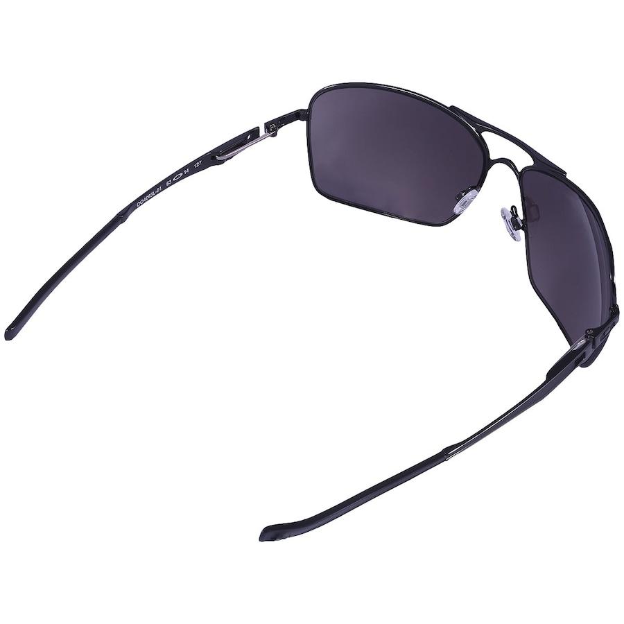 e6c430e733a7c Óculos de Sol Oakley PLAINTIFF SQUARED OO4063L-01 63-14
