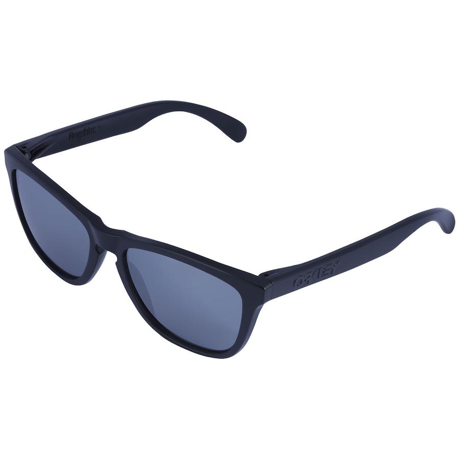 22069914a422d Óculos de Sol Oakley Frogskins Black Iridium - Masculino