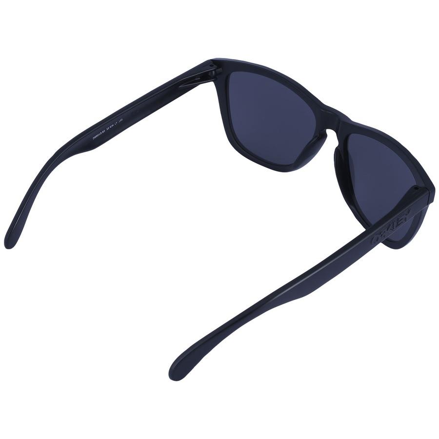 Óculos de Sol Oakley Frogskins Black Iridium - Masculino 6b713fff65