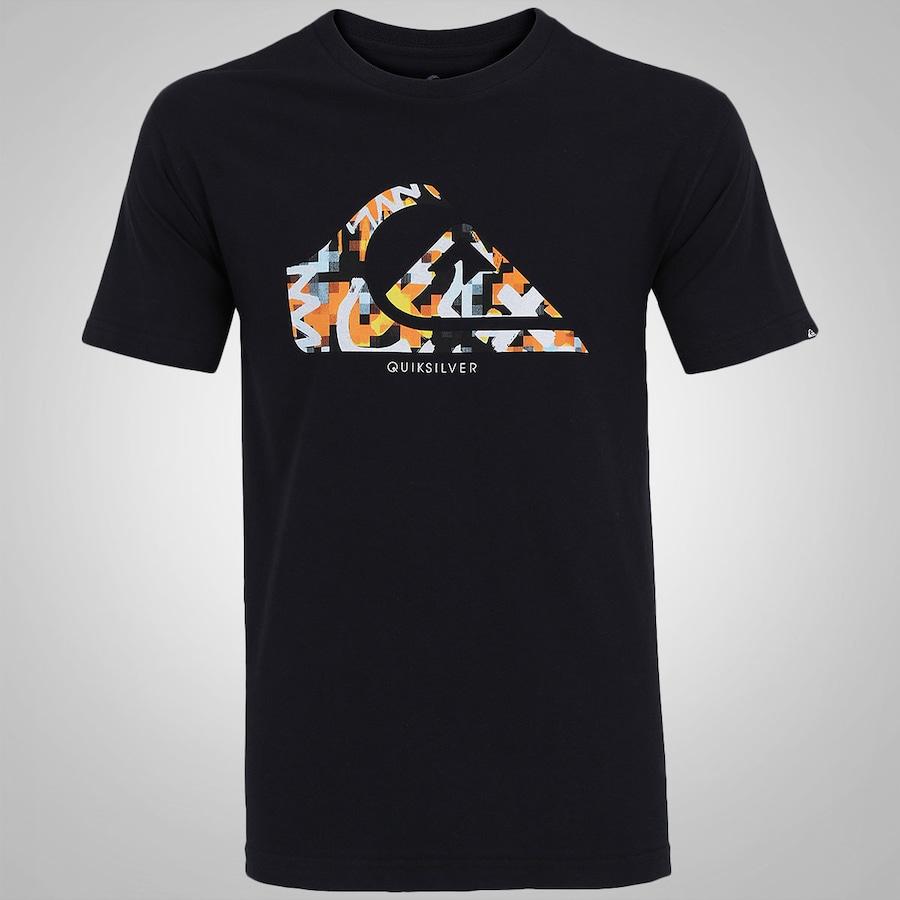 a4d444e271 Camiseta Quiksilver Bas Logo Color - Masculina