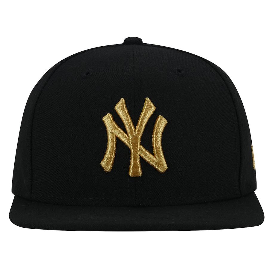 54f8fd791 Boné Aba Reta New Era 950 New York Yankees MLB Gold- Snapba