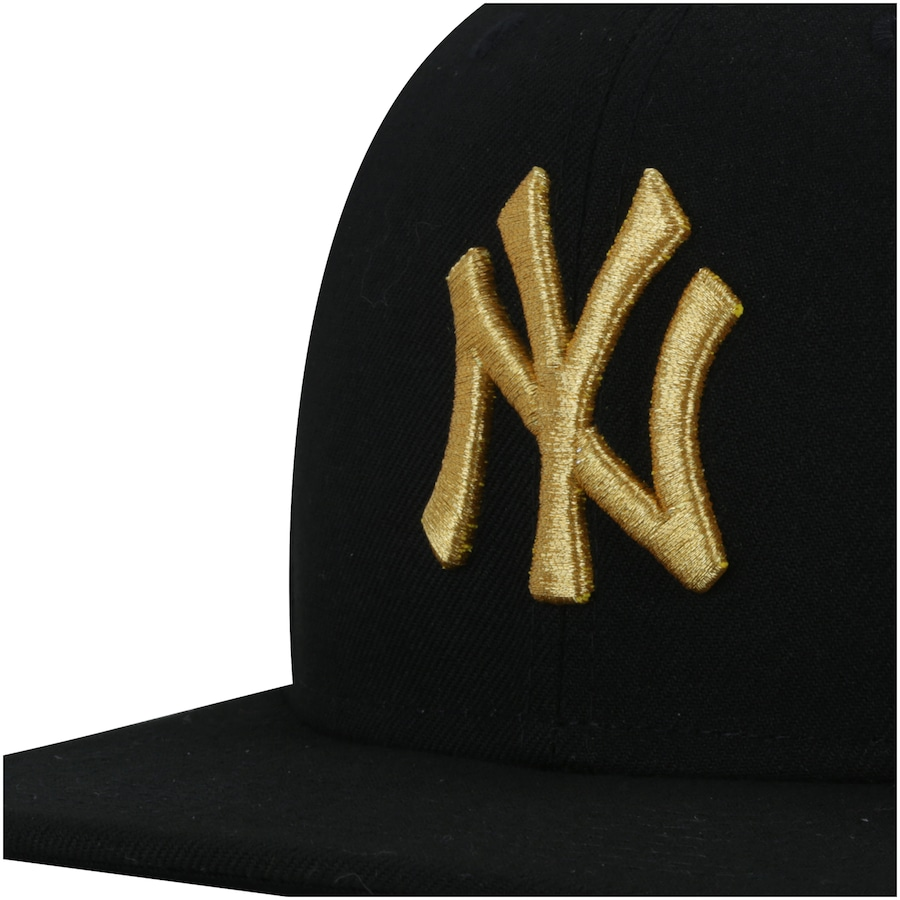 ... Boné Aba Reta New Era 9FIFTY New York Yankees MLB Gold- Snapback -  Adulto ... ad4f429098d