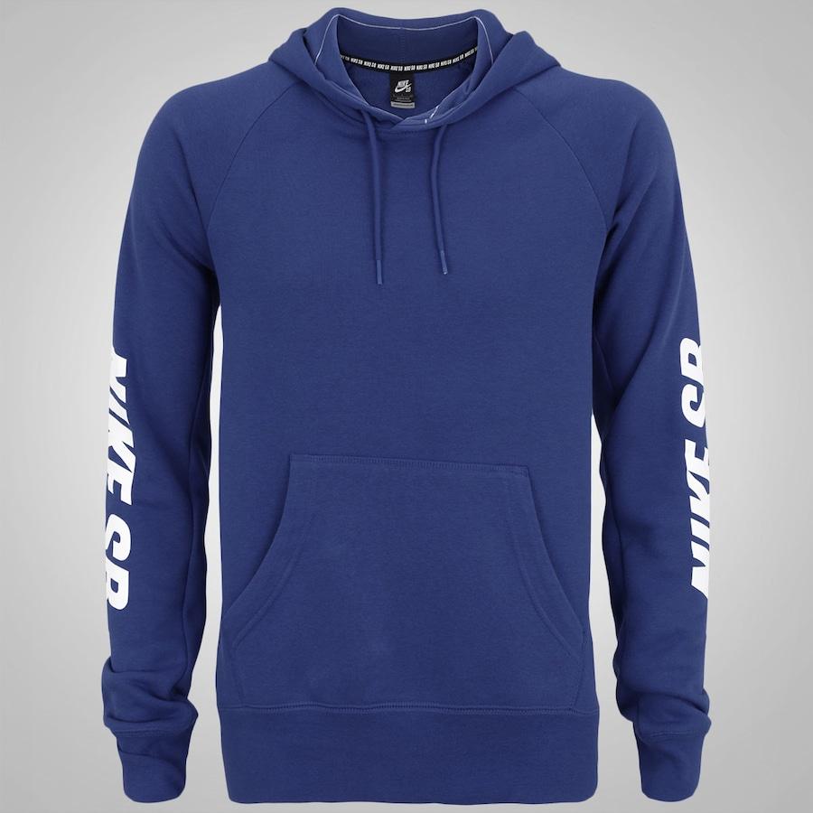 05f38b9096dae Blusão com Capuz Nike SB Icon Yarn Dye Po Hoodie - Masculin