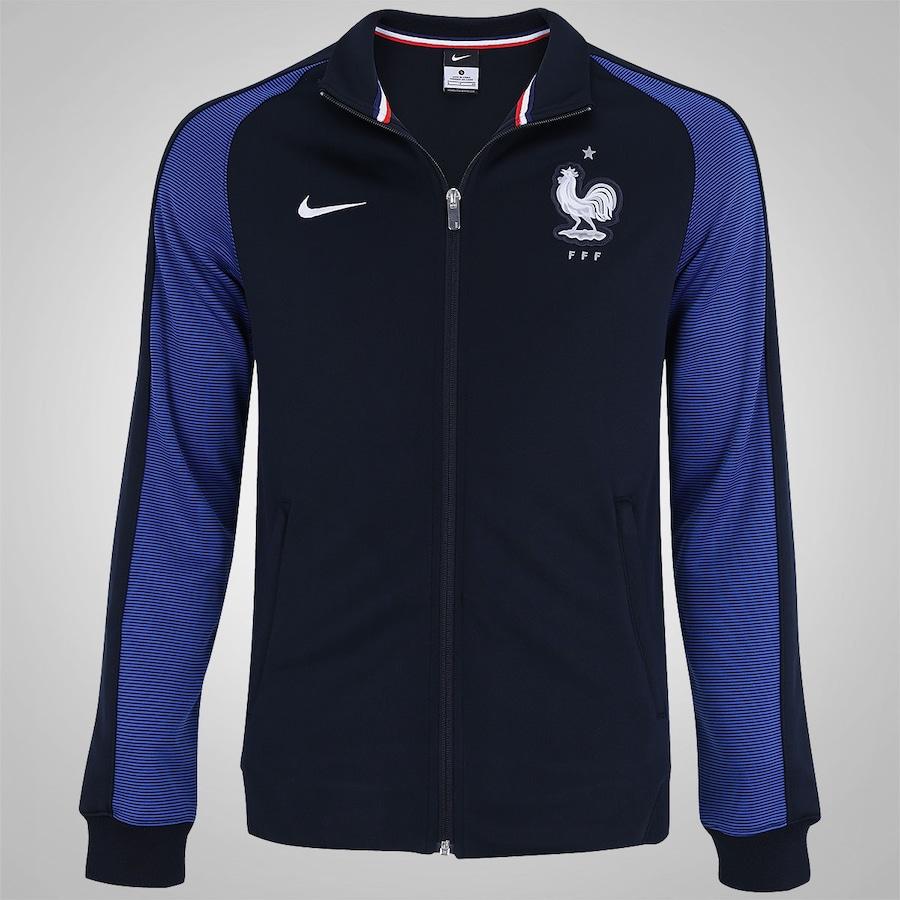 Jaqueta França Pré-Treino Nike Authentic N98 - Masculina 2710313b9a1ee