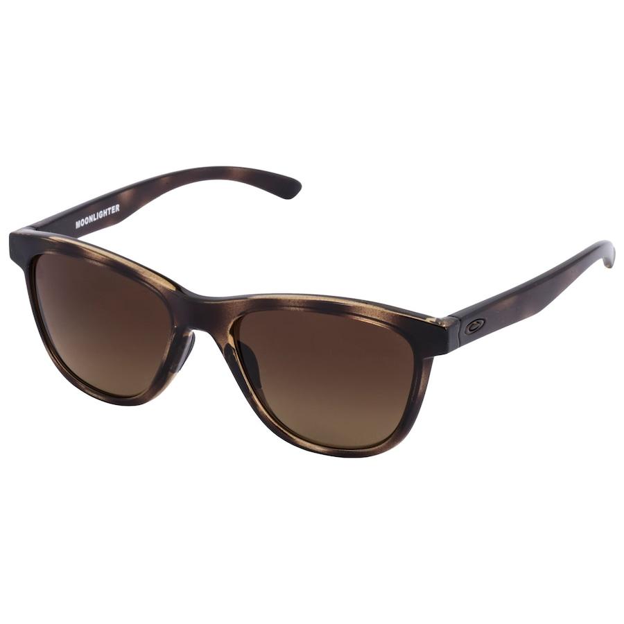 Óculos de Sol Oakley Moonlighter Polarizado - Unissex 566b4142d8